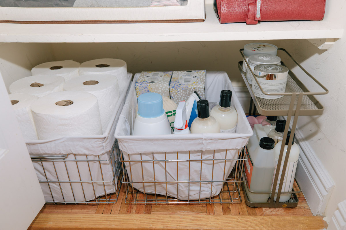 Storage Closet Organization