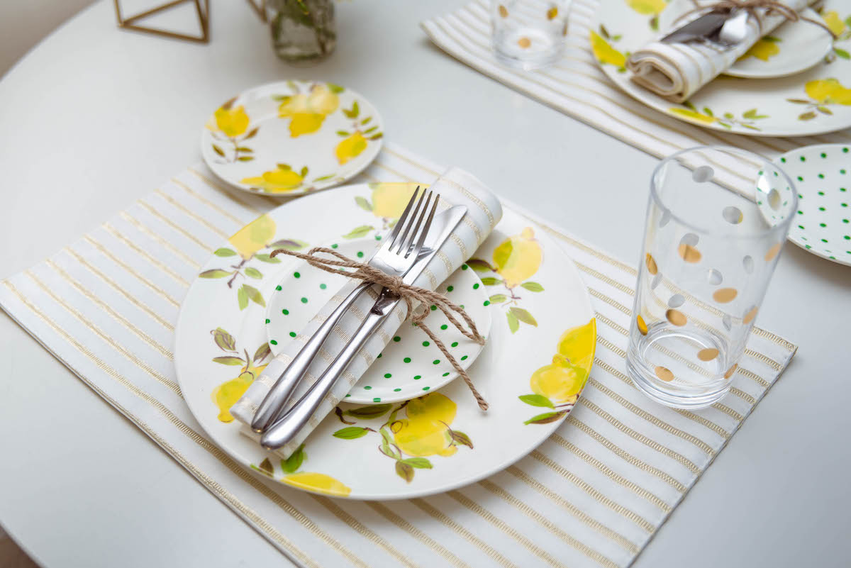 kate spade new york Melamine Lemon Collection