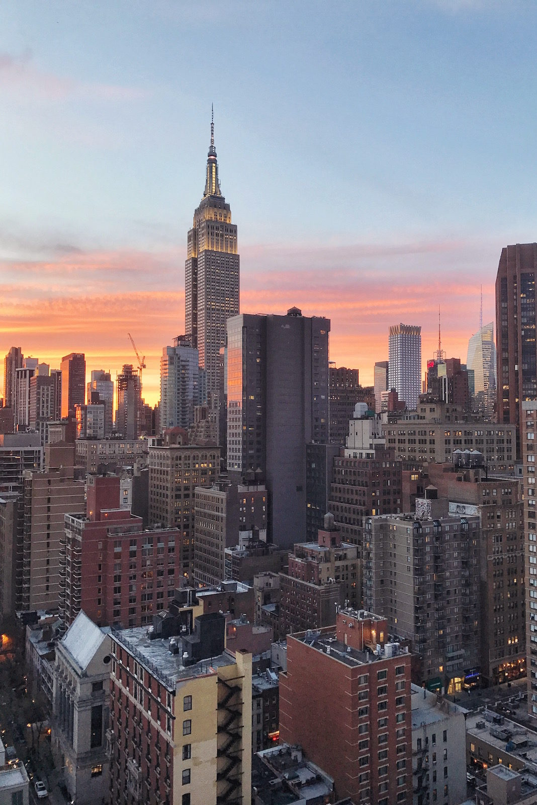 New York City Rooftop View