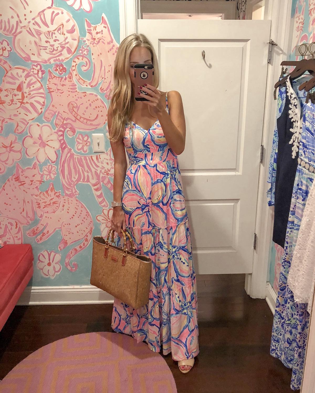 Lilly Pulitzer Melody Maxi Dress