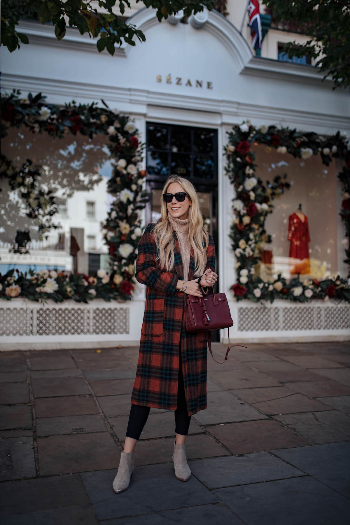 Leith Plaid Coat