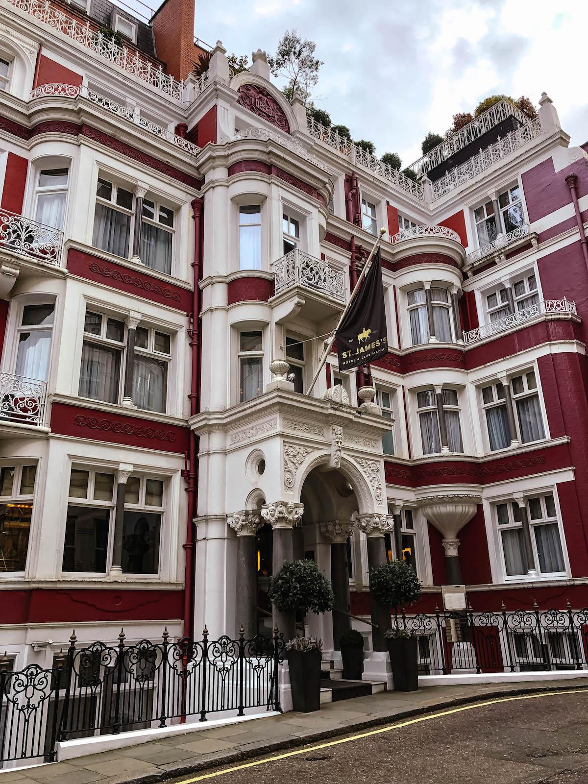 St. James Hotel London