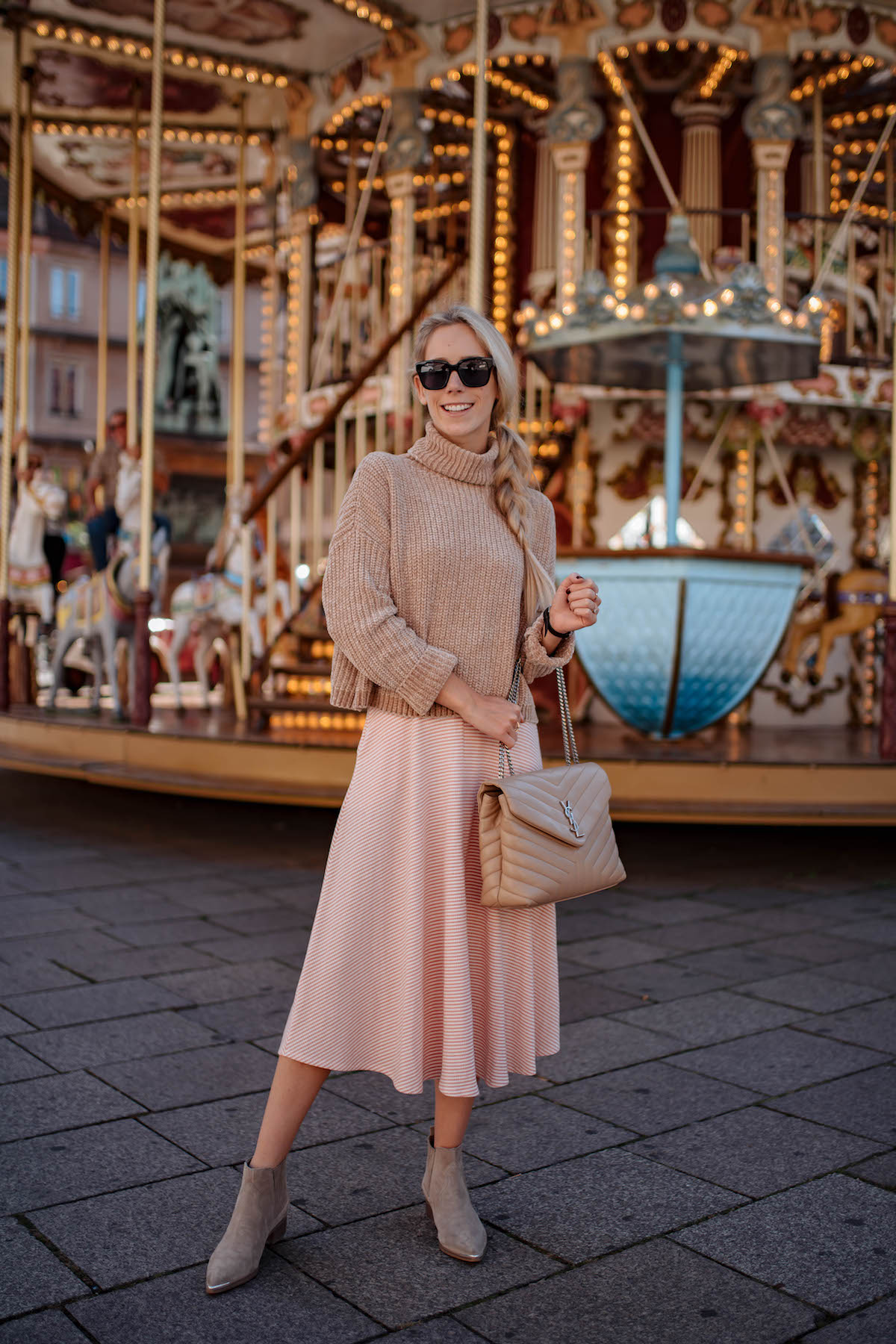 b776a91bf01e0 Knit Midi Dress   Chenille Sweater at the Strasbourg Carousel ...