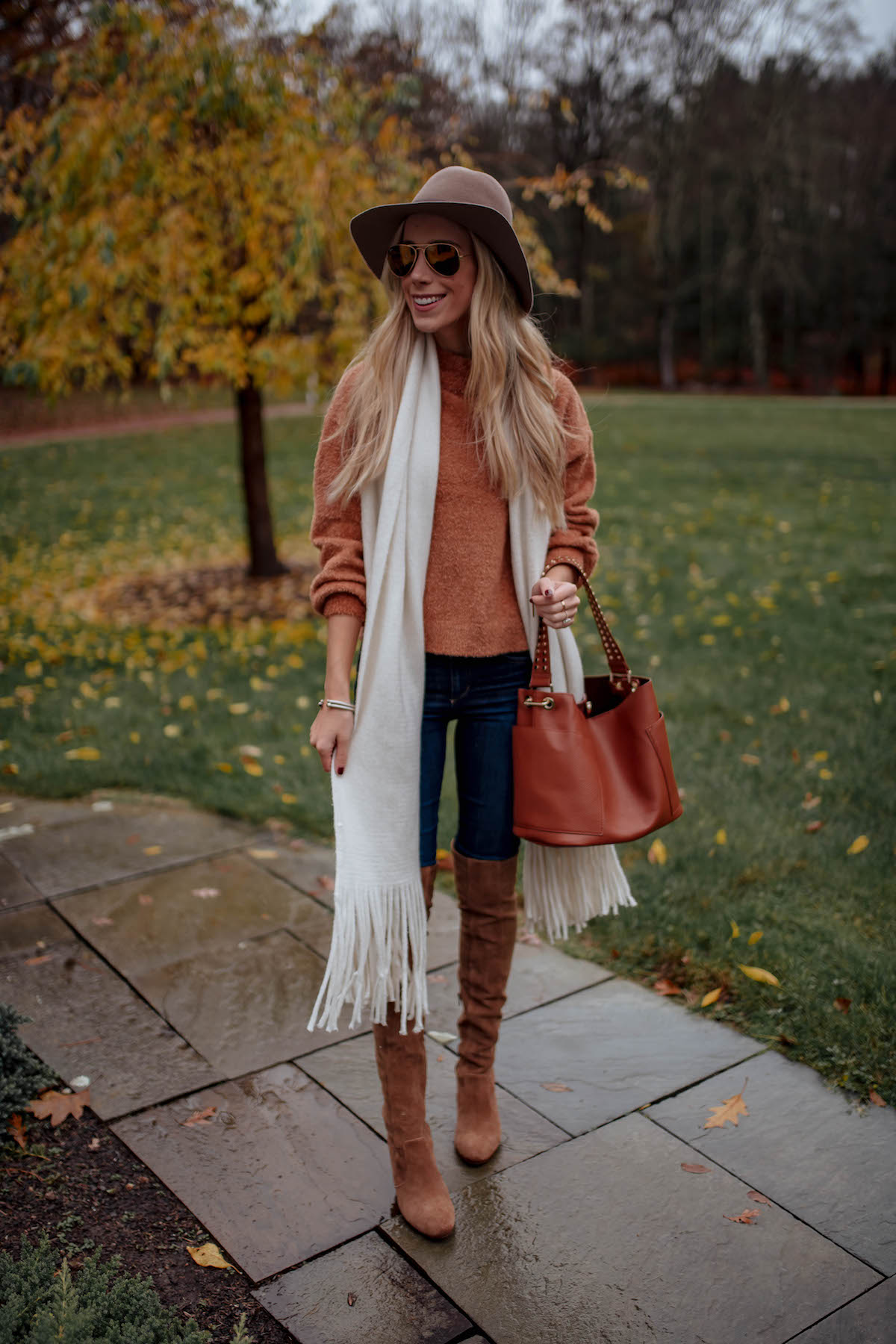Brown Chenille Sweater