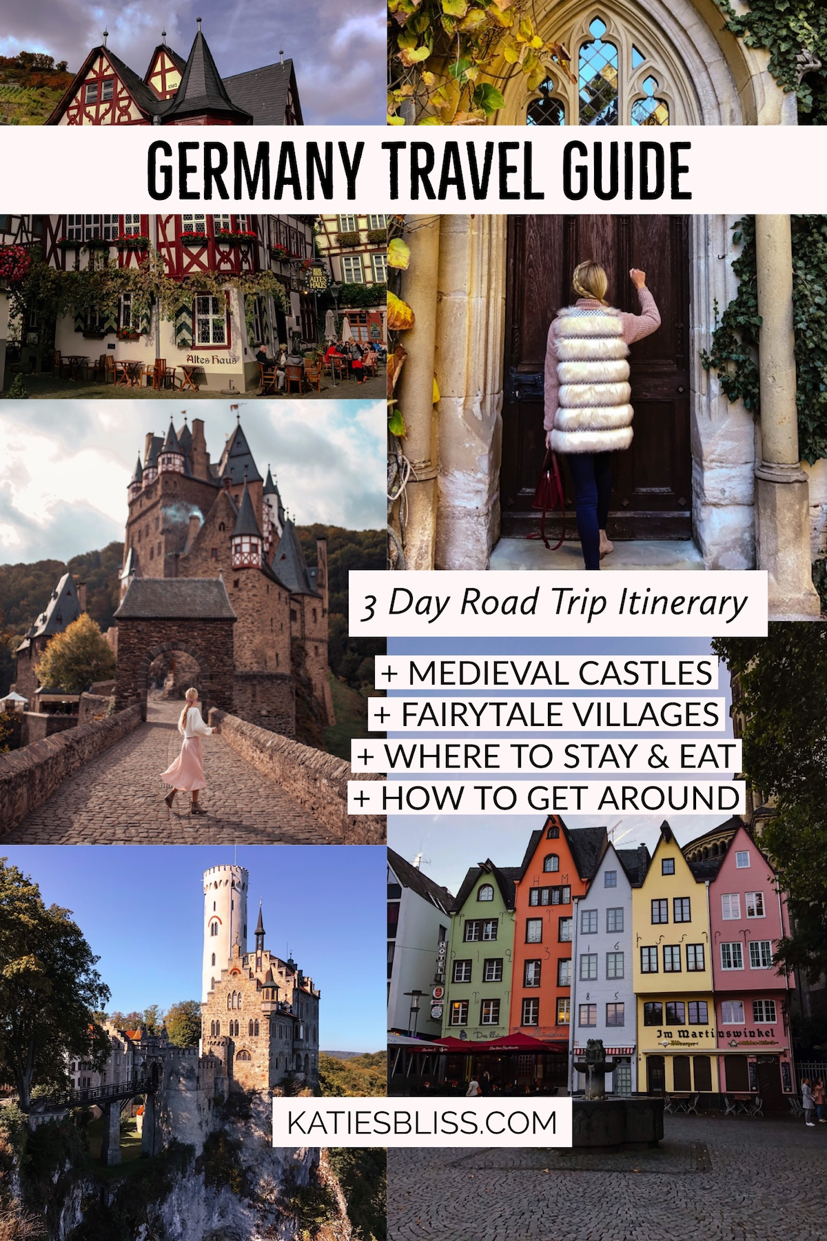 Germany Road Trip Itinerary Travel Guide