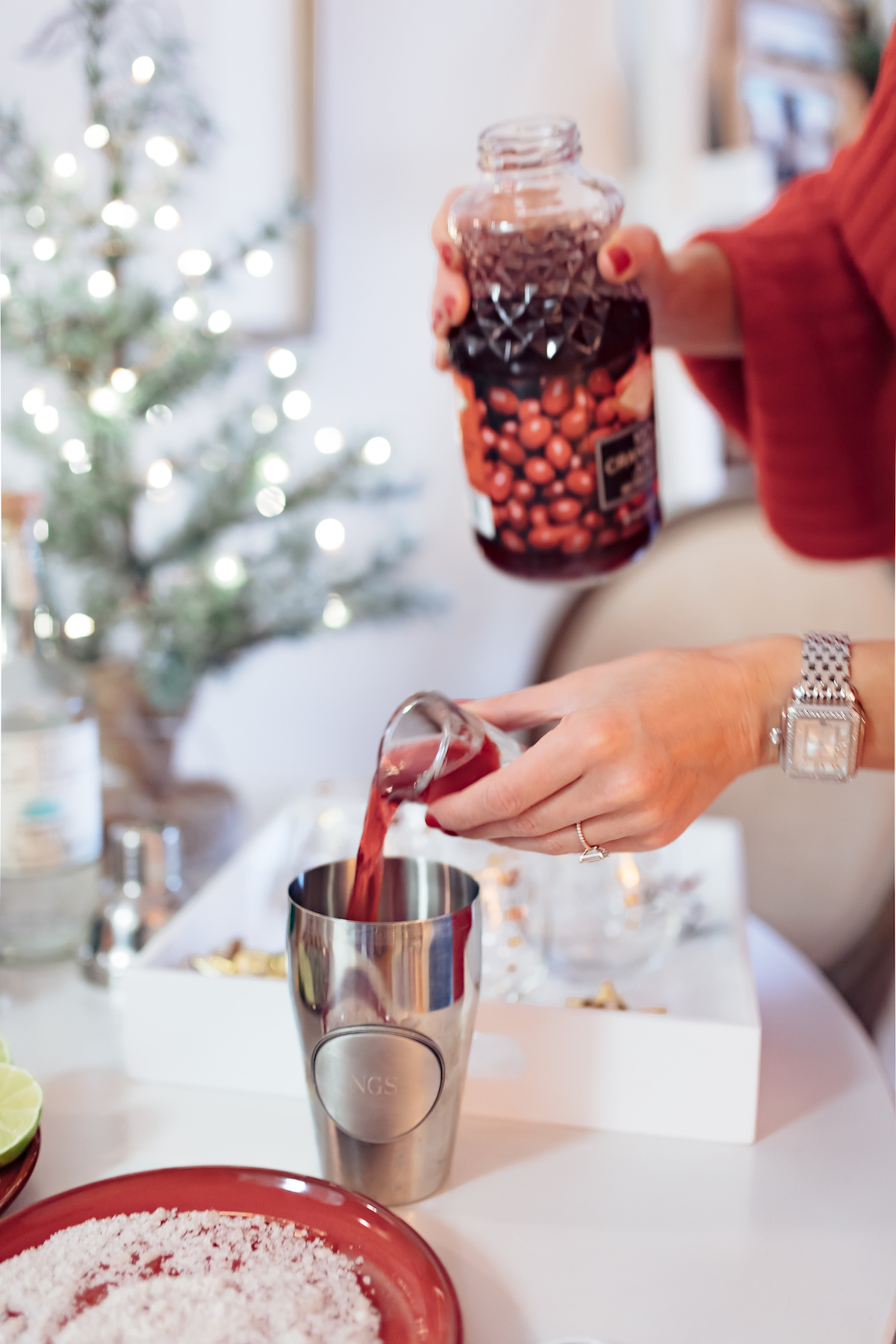 Cranberry Orange Holiday Margarita Recipe