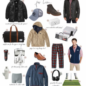 Mens Holiday Gift Guide