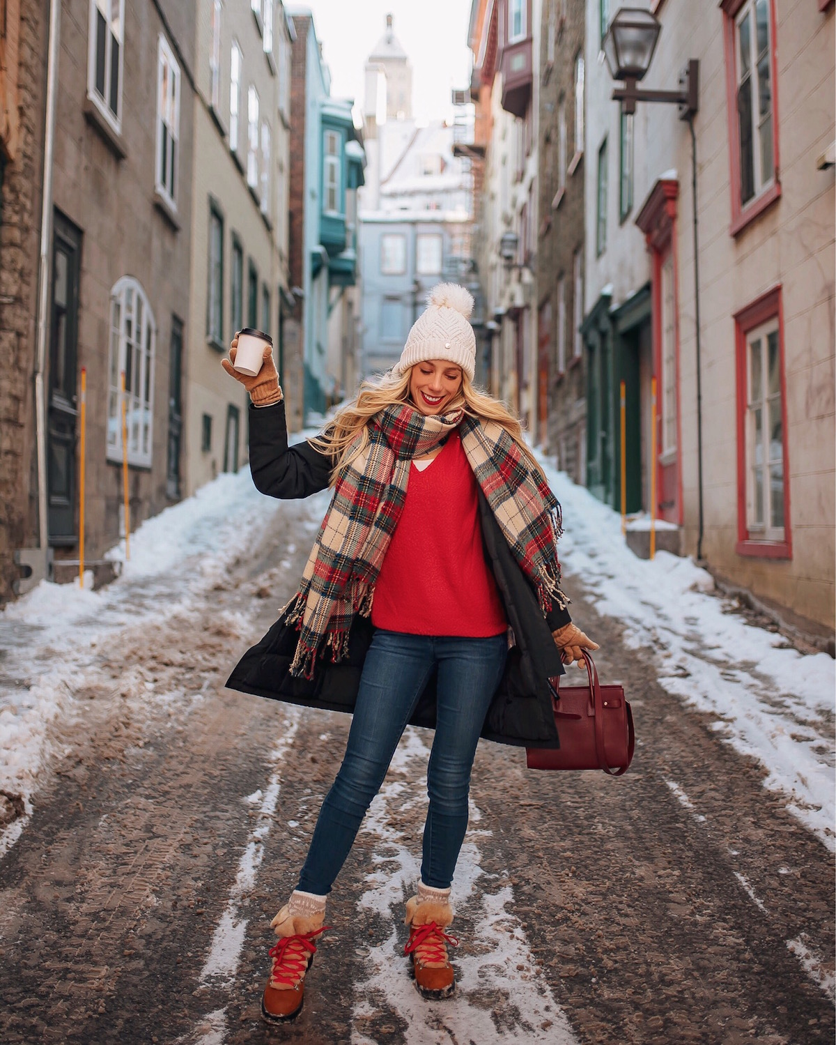 Montreal Winter Fashion: Quebec City December Travel Guide