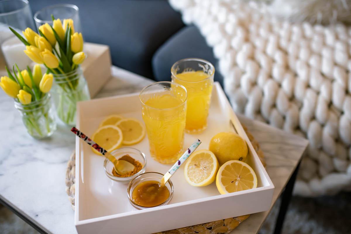 Lemon Turmeric Apple Cider Vinegar Detox Water Recipe