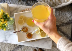 Lemon Turmeric Apple Cider Vinegar Detox Water Recipe