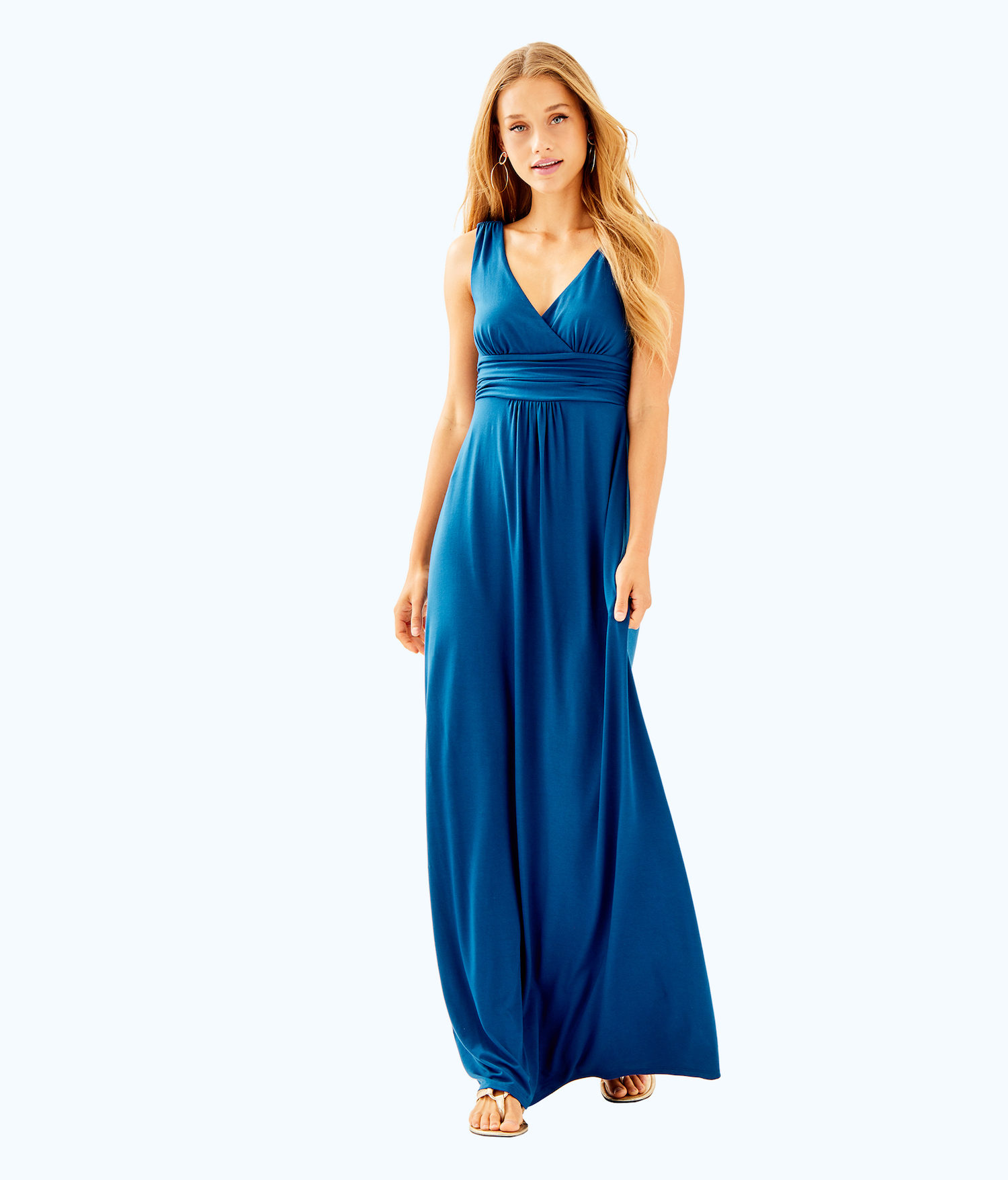 Lilly Pulitzer Sloane V Neck Maxi Dress