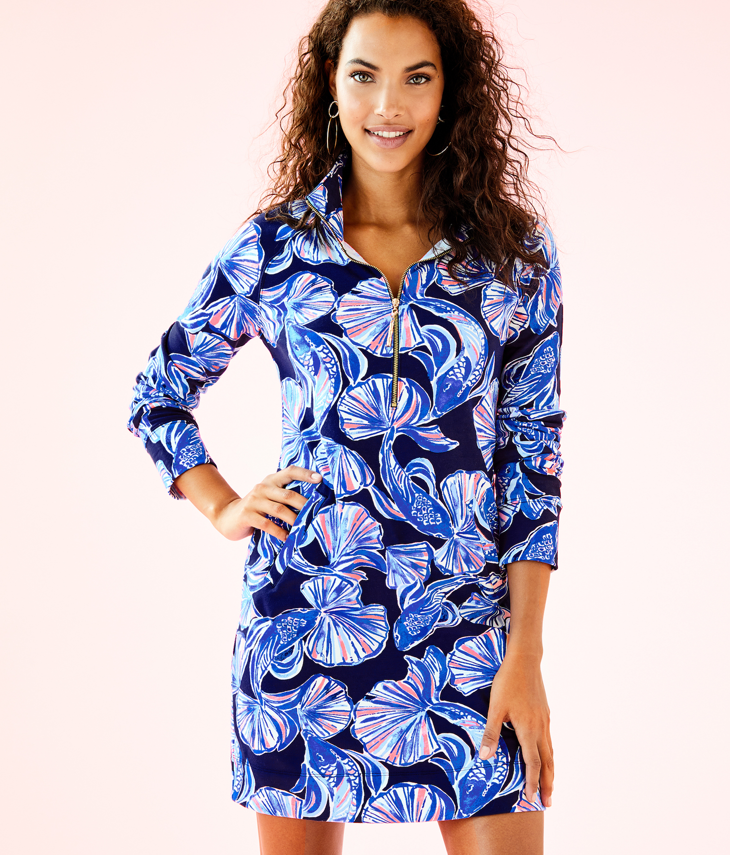 Lilly Pulitzer UPF-50+ Printed Popover Skipper Dress