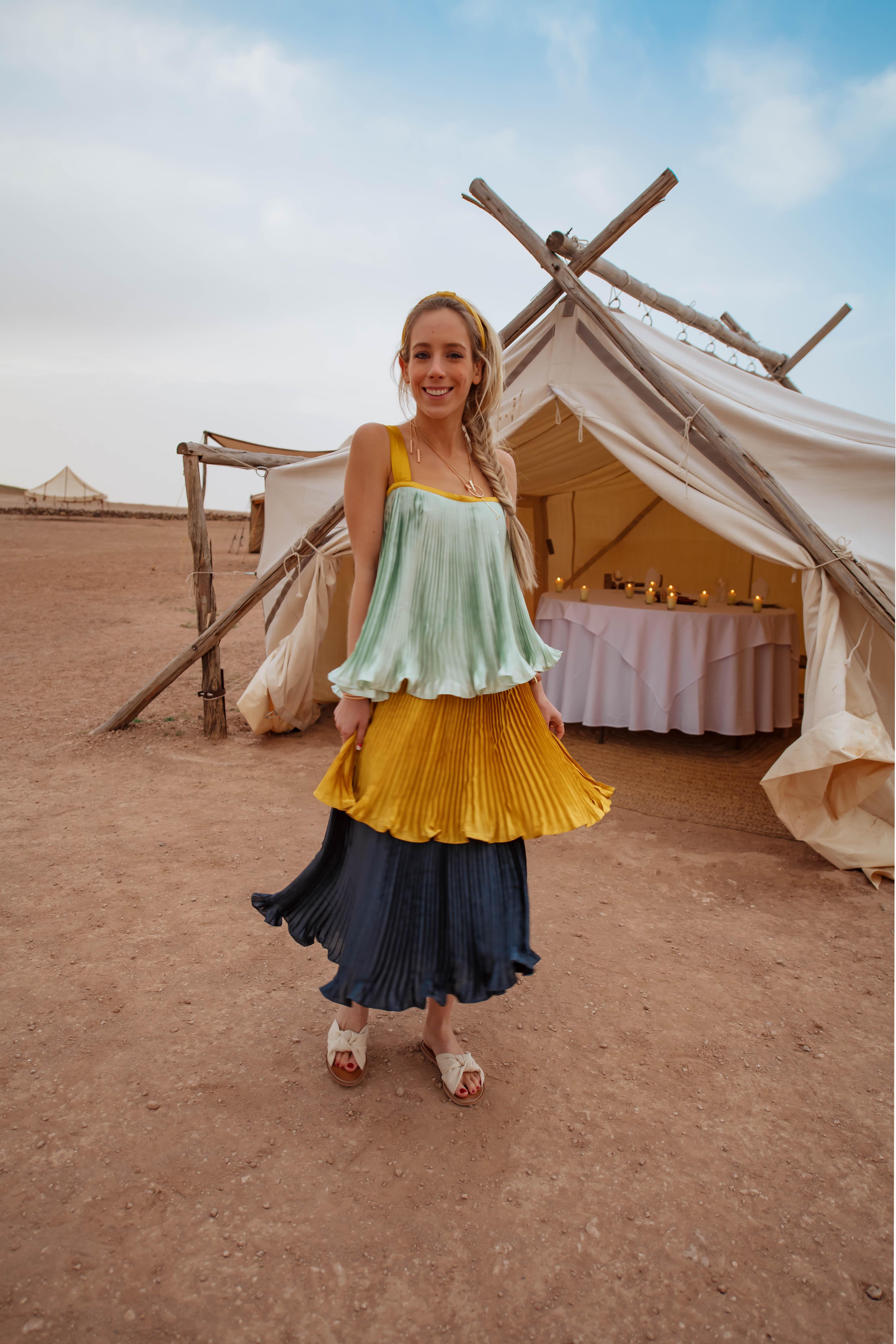 Anthropologie Ruffle Dress
