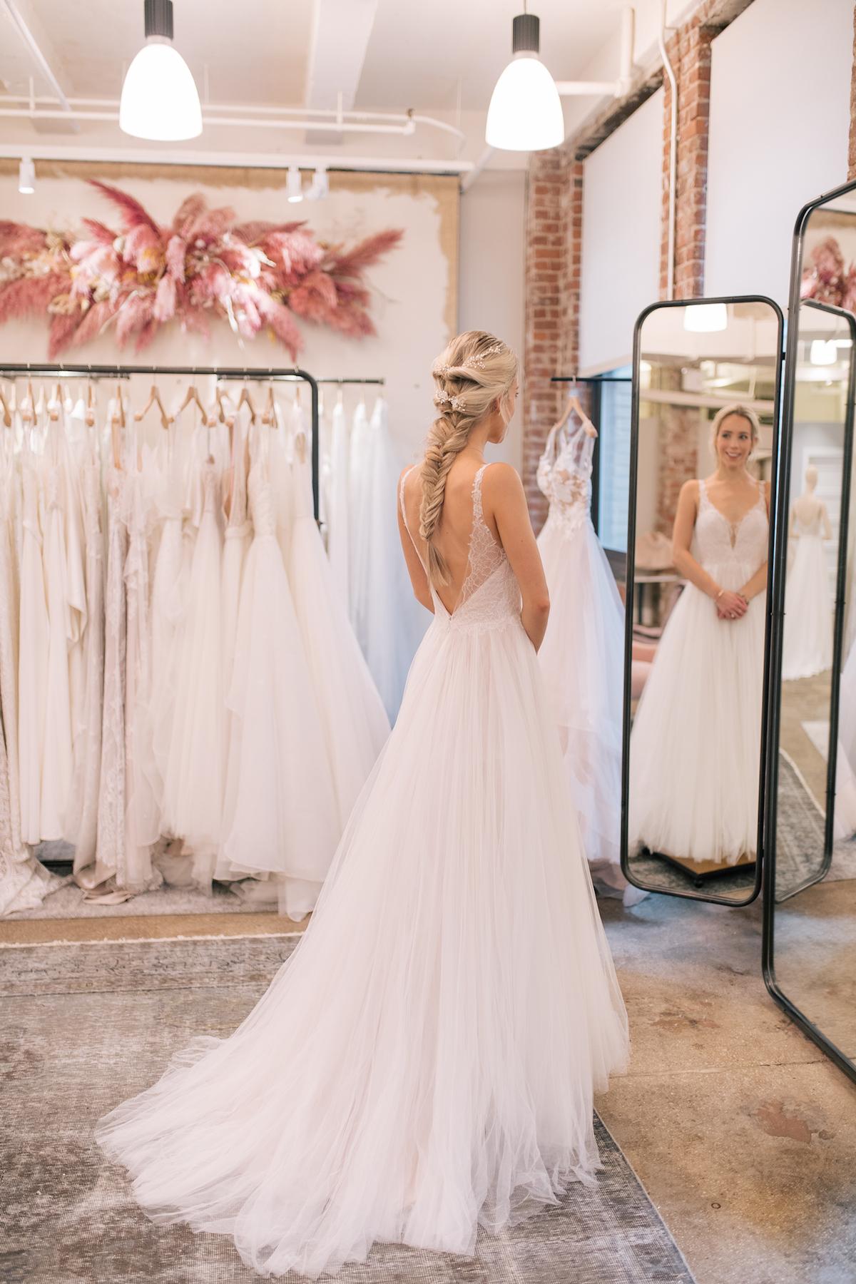 BHLDN Mercer Gown