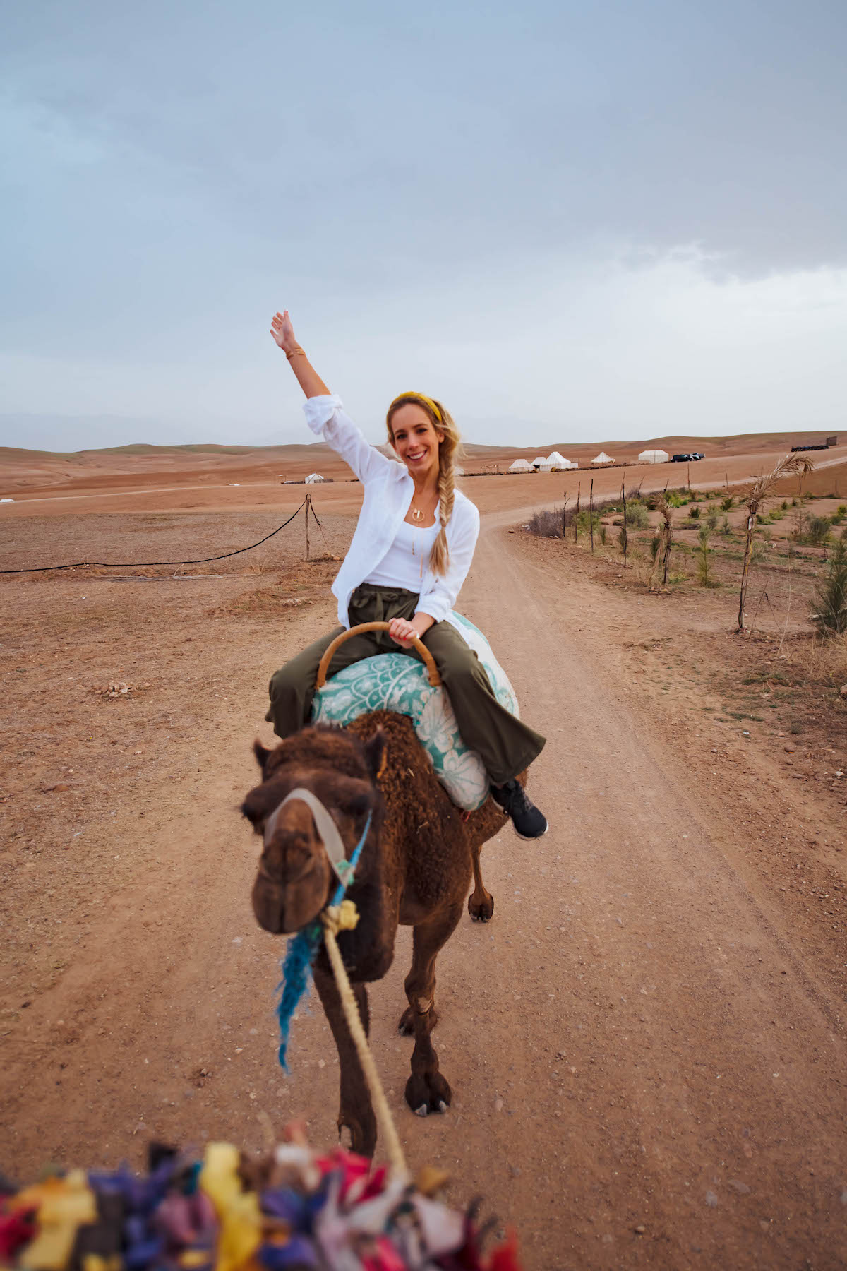 Camel Riding in Marrakech Morocco