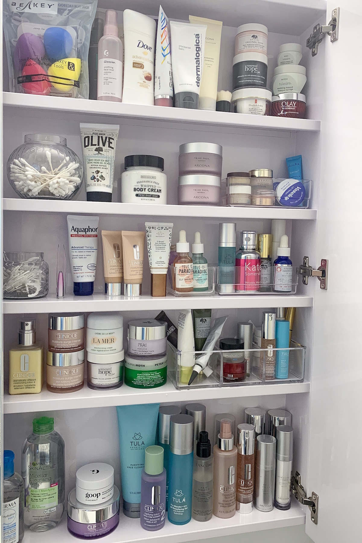 Container Store Acrylic Organizers