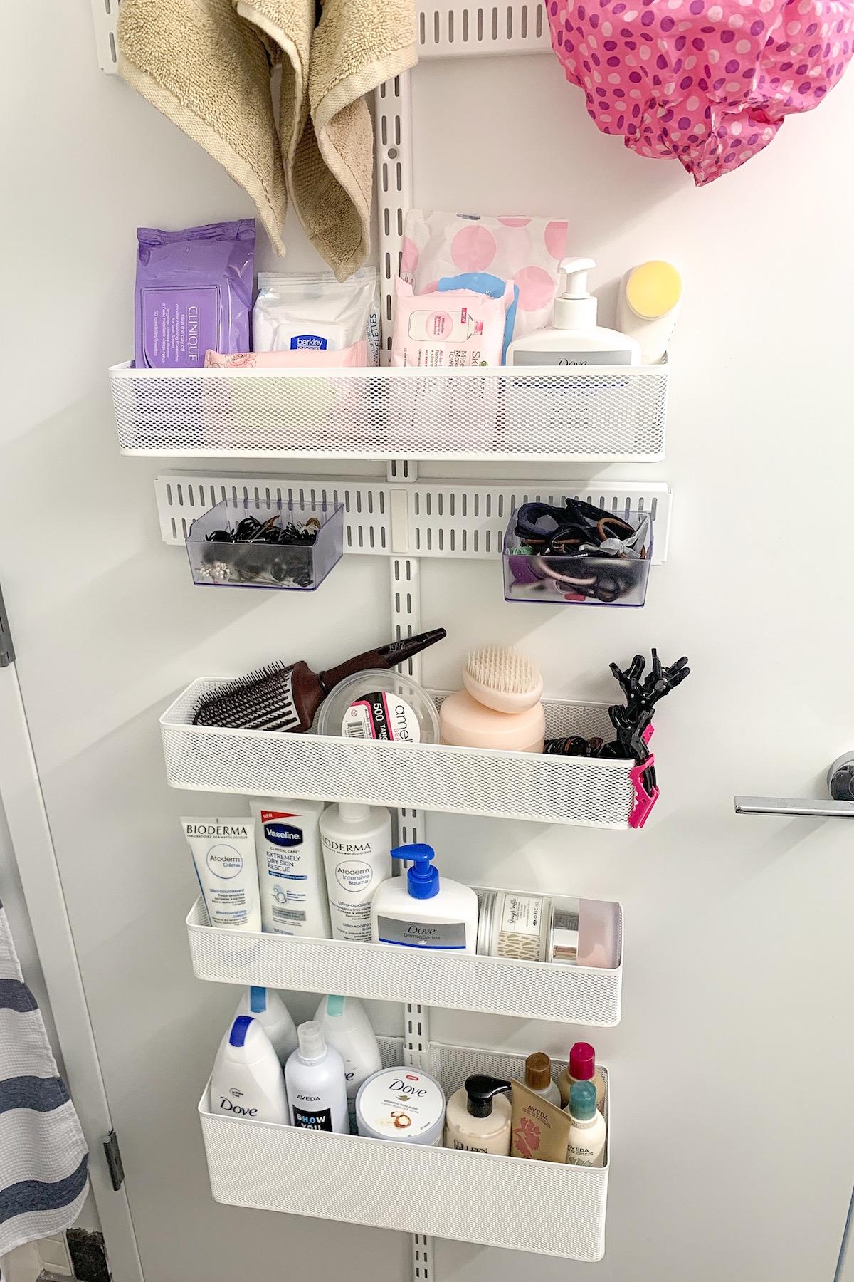 Apartment Update Closet Amp Bathroom Cabinet Organization