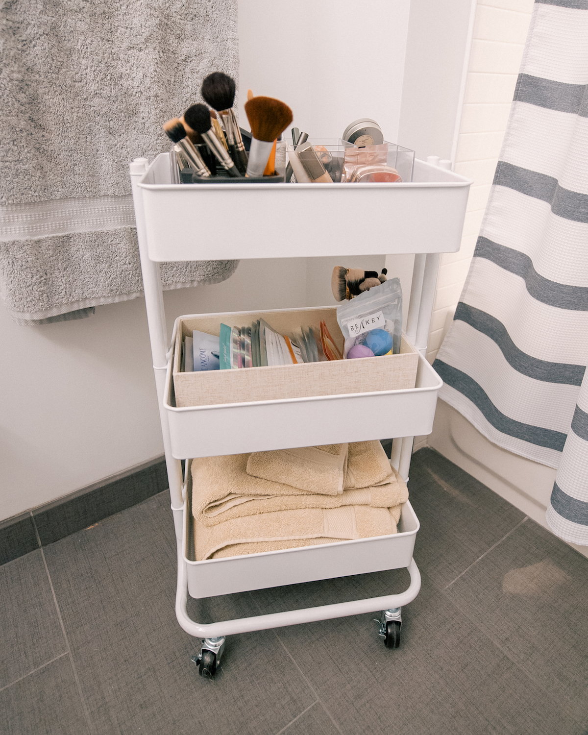 Container Store Rolling Cart