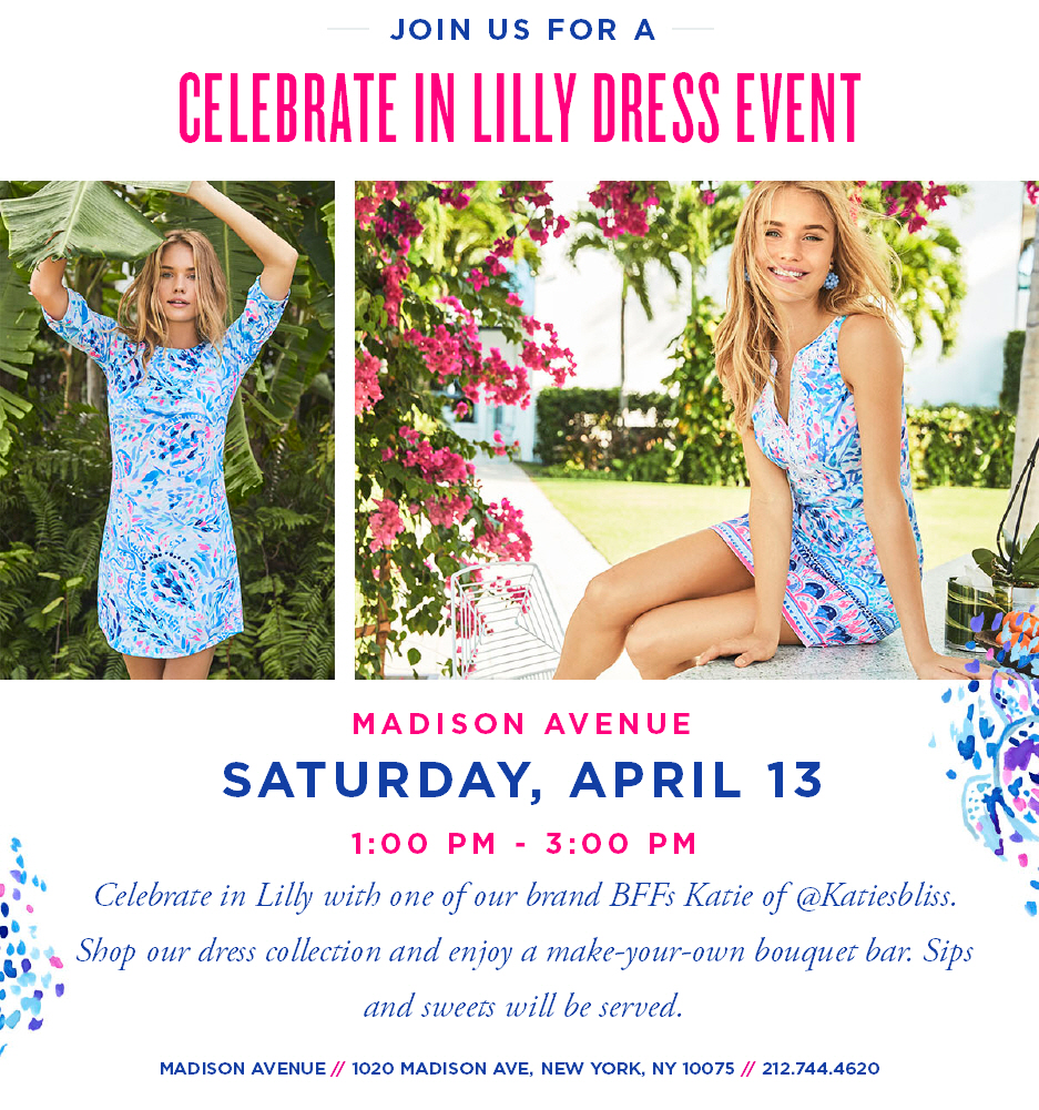 Katie's Bliss Lilly Pulitzer Store Event