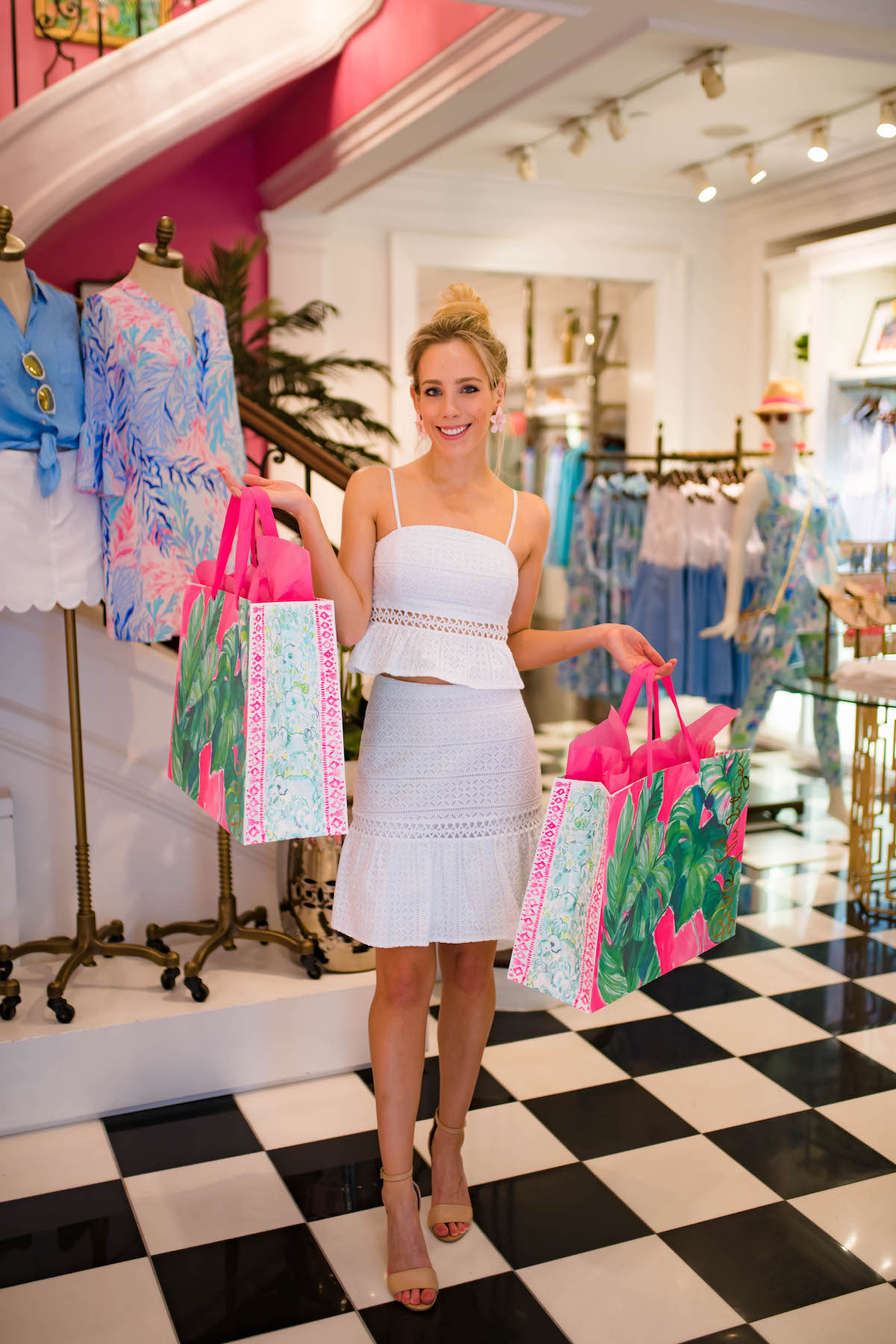 Lilly Pulitzer Jan Two Piece Skirt Set