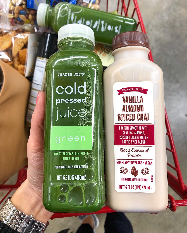 Trader Joes Cold Pressed Juice