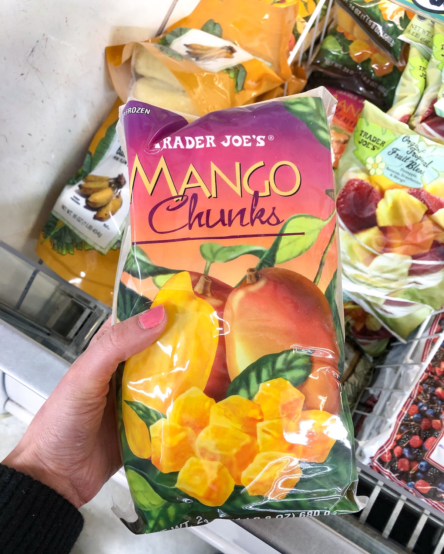 Trader Joes Frozen Mango