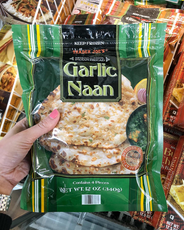 Trader Joes Garlic Naan