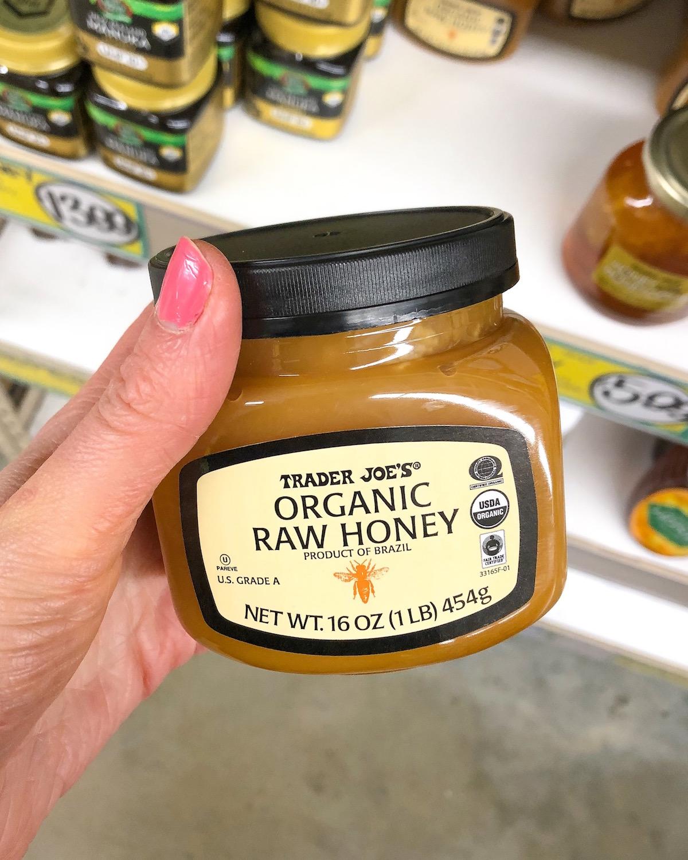 Trader Joes Organic Raw Honey