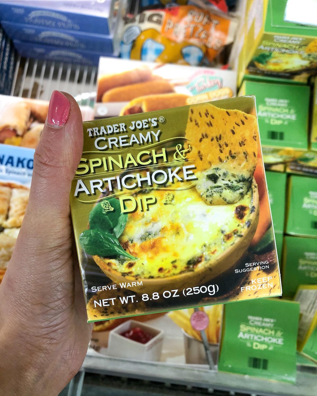 Trader Joes Spinach Artichoke Dip
