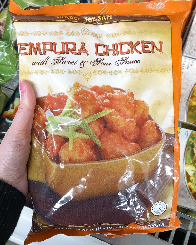 Trader Joes Tempura Chicken