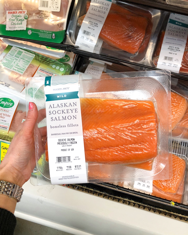 Trader Joes Wild Alaskan Sockeye Salmon