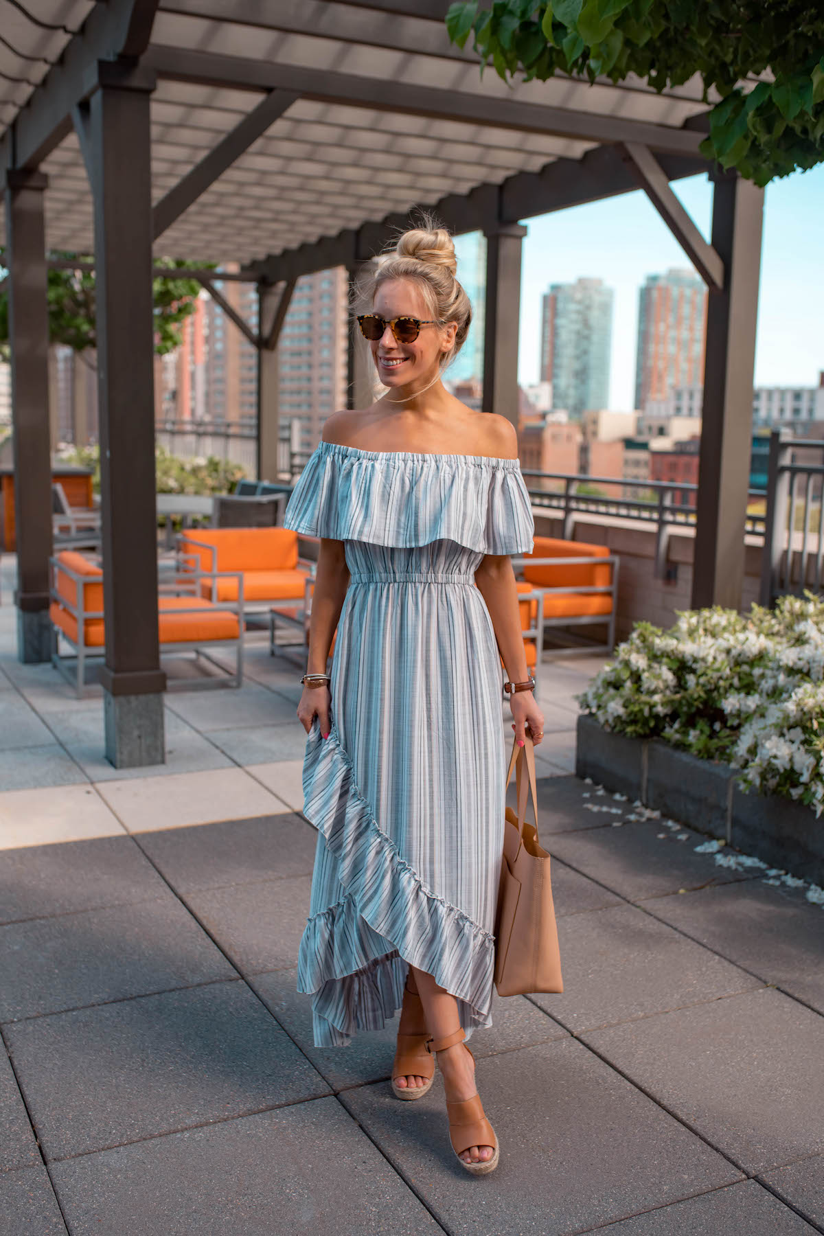 BB Dakota Off The Shoulder Dress
