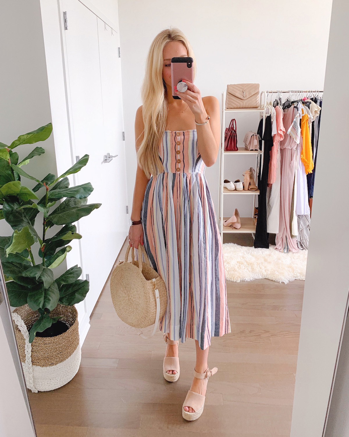 Free People Lilah Strapless Maxi Dress