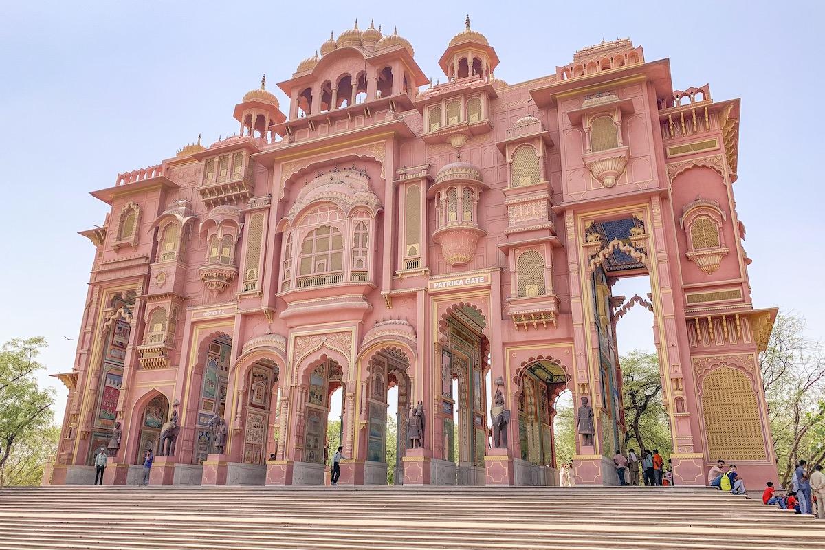 Patrika Gate Jaipur India