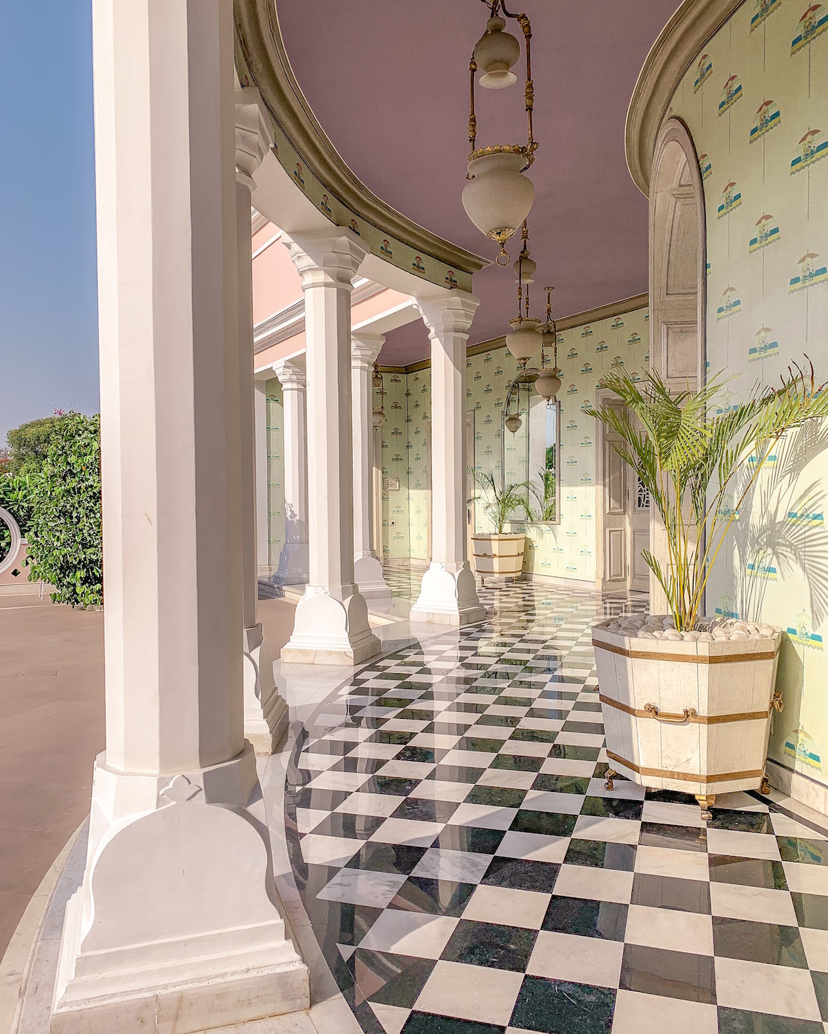 Suján Rahmahal Palace Jaipur India