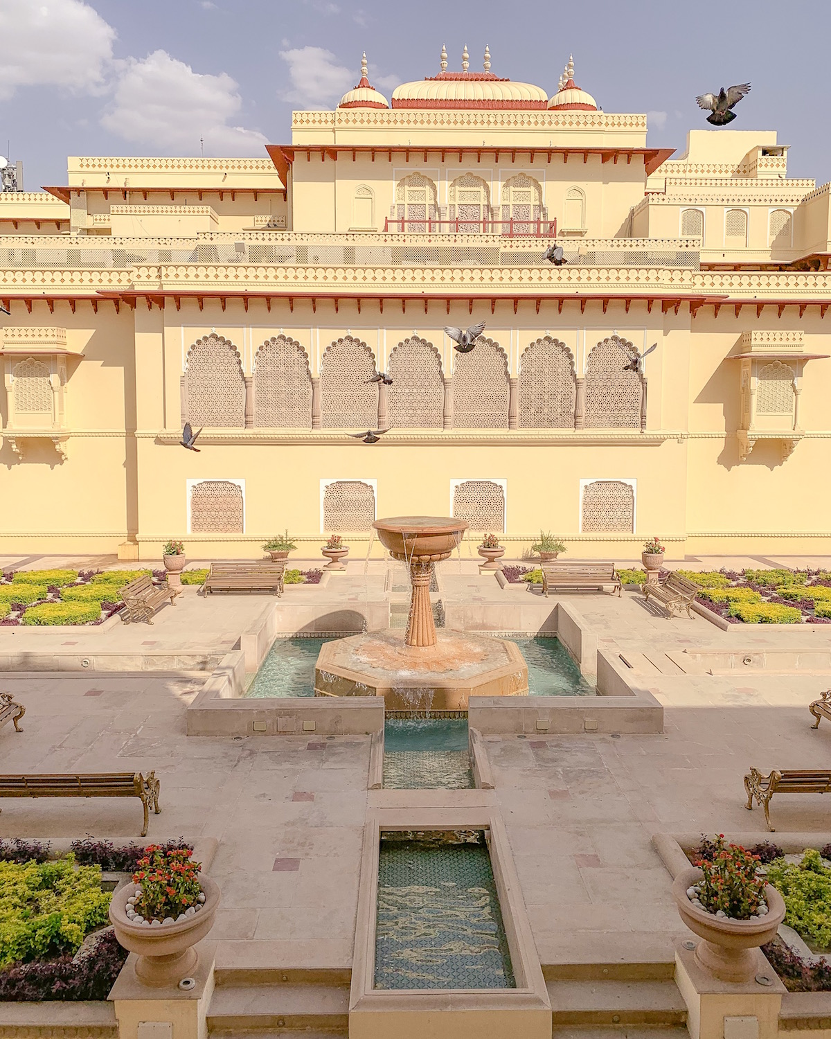 Rambagh Palace Hotel Jaipur India