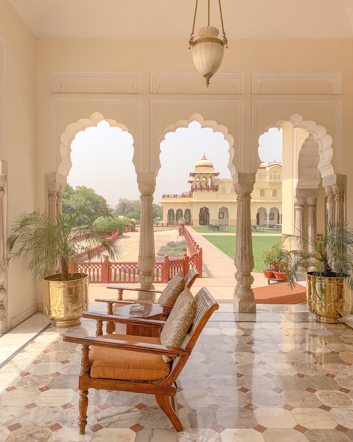 Rambagh Palace Jaipur India