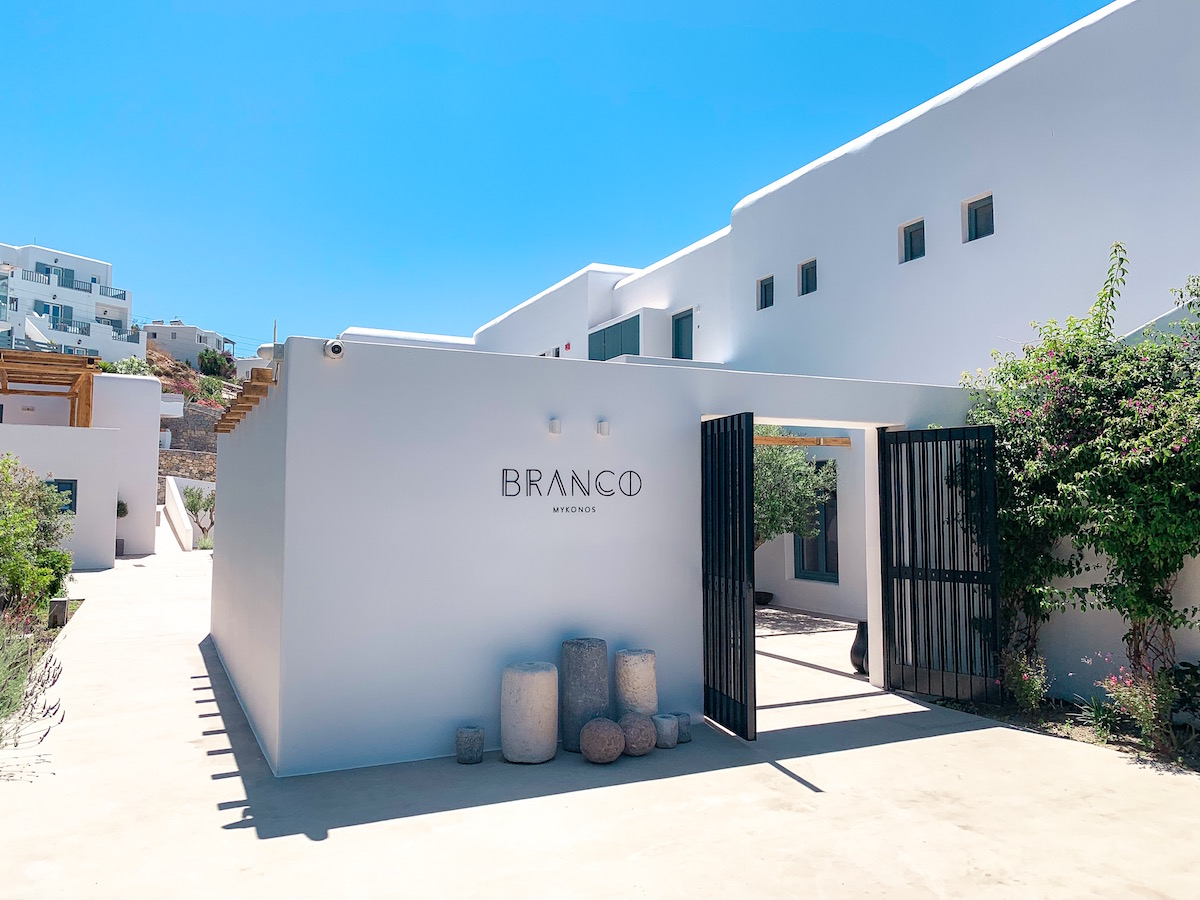 Branco Hotel Beach Club Mykonos