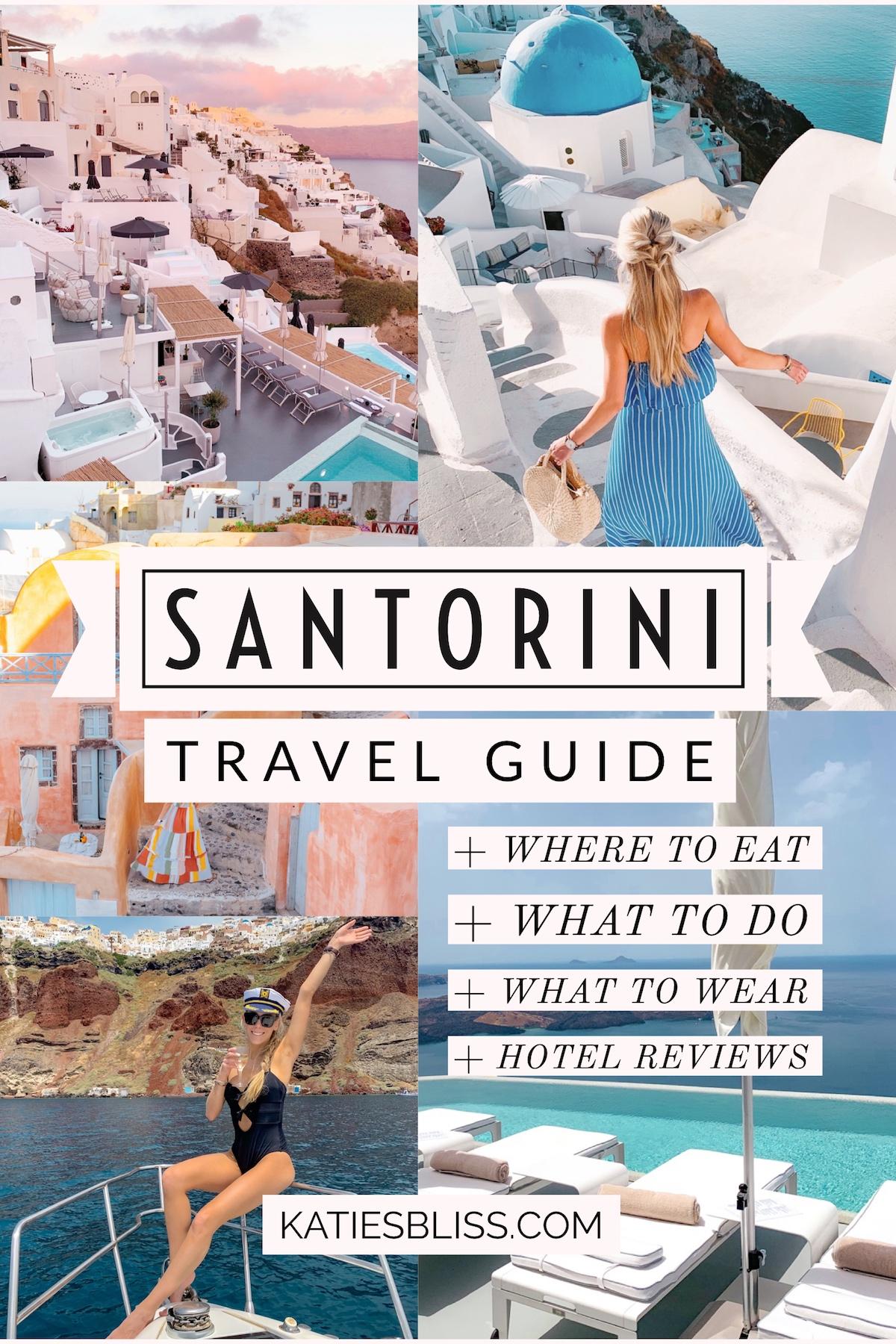 Santorini Greece Travel Guide