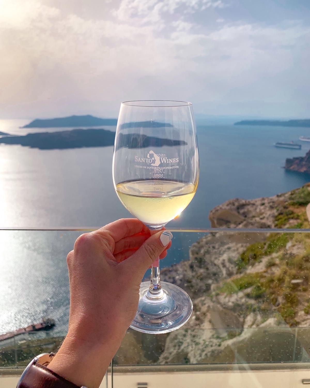 Santos Winery Santorini