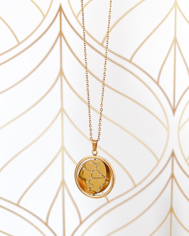 Victoria Emerson Zodiac Pendant Necklace