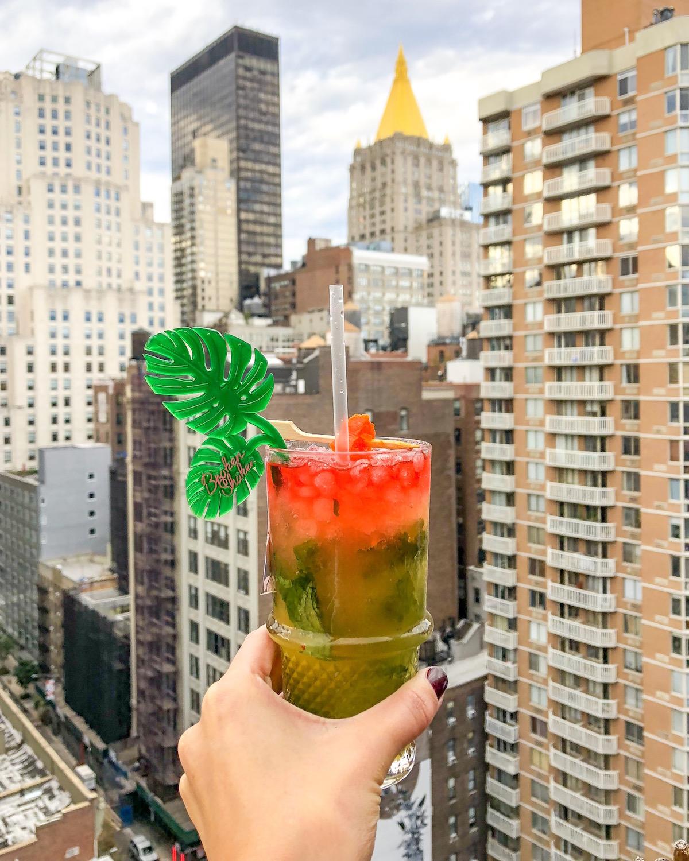 Broken Shaker Rooftop Bar Freehand Hotel New York