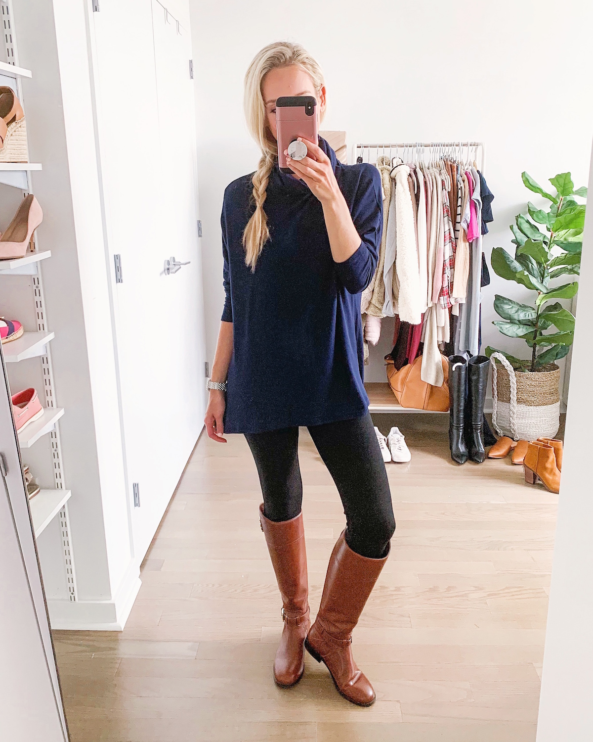 Caslon High Low Tunic