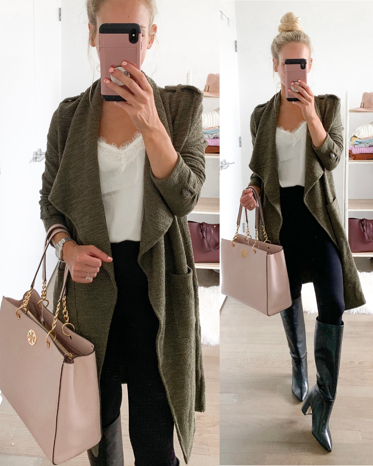 BB Dakota Drapey Trench Coat