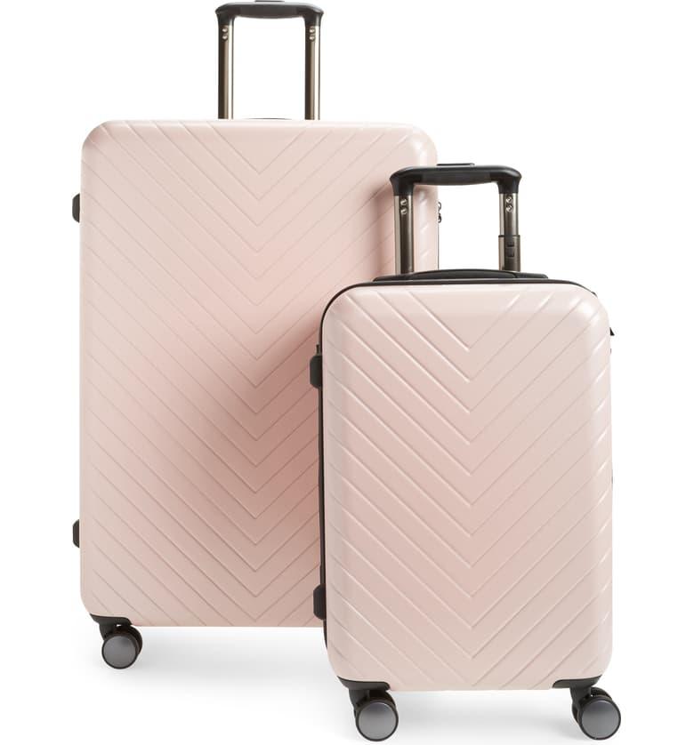 Nordstrom Chevron Spinner Luggage Set