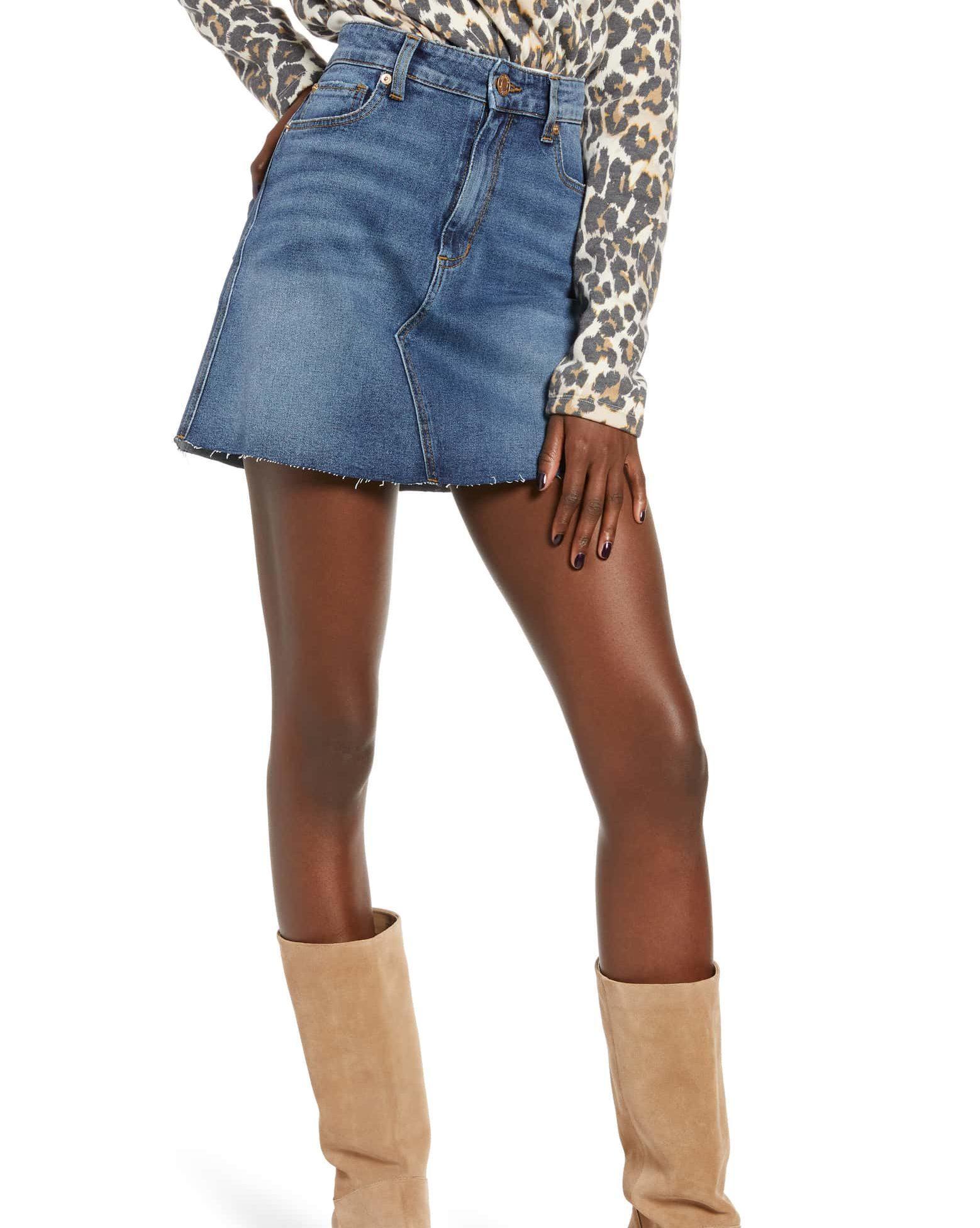 STS Emily Blue Denim Miniskirt