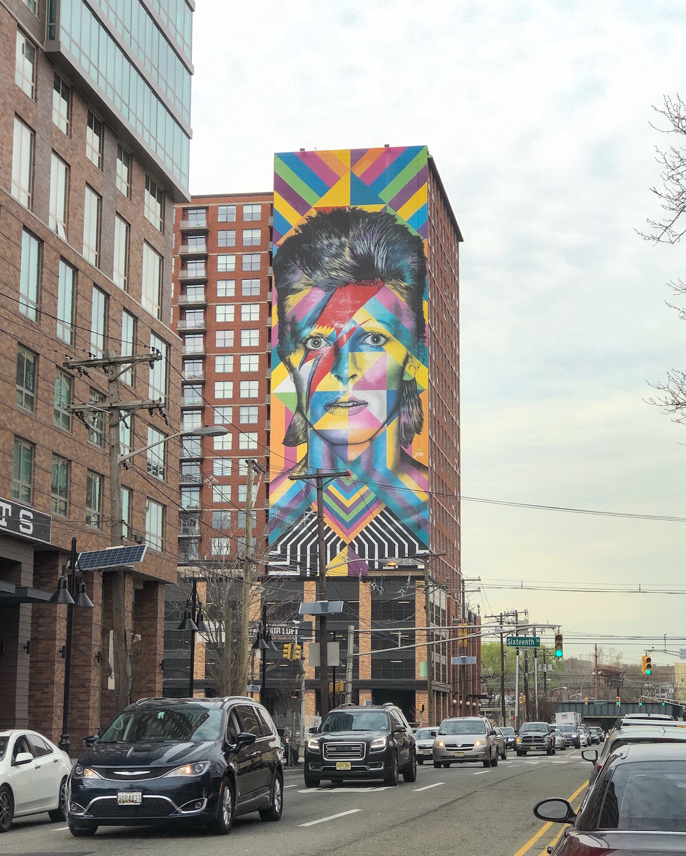 David Bowie Mural Jersey City