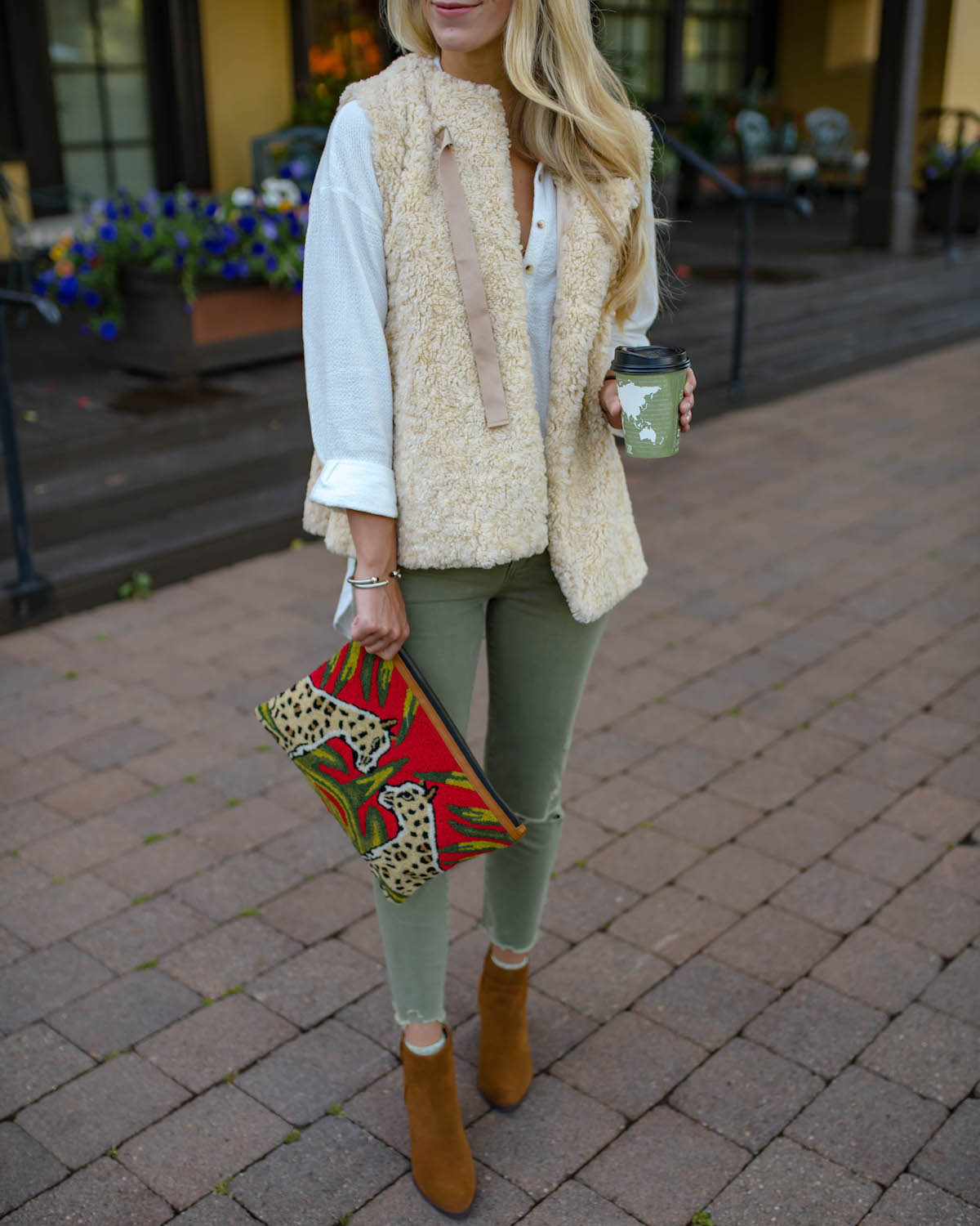 Anthropologie Sherpa Vest