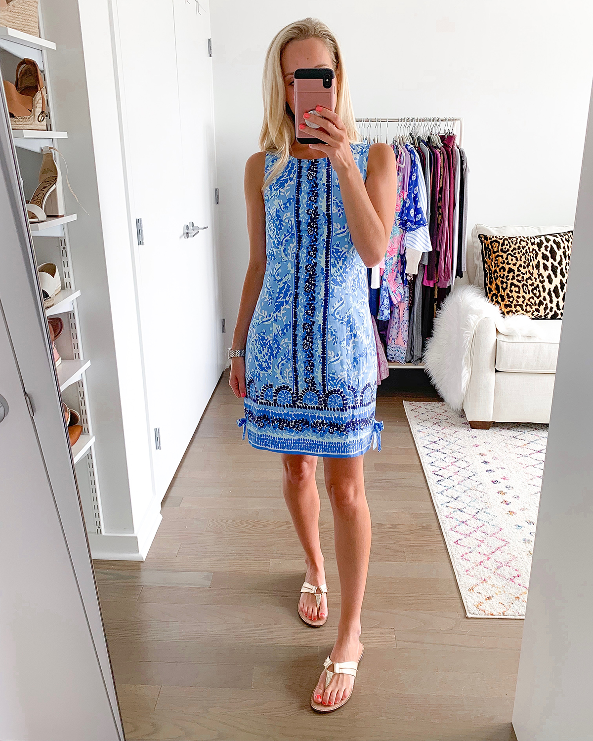 Lilly Pulitzer Mila Engineered Stretch Shift Dress