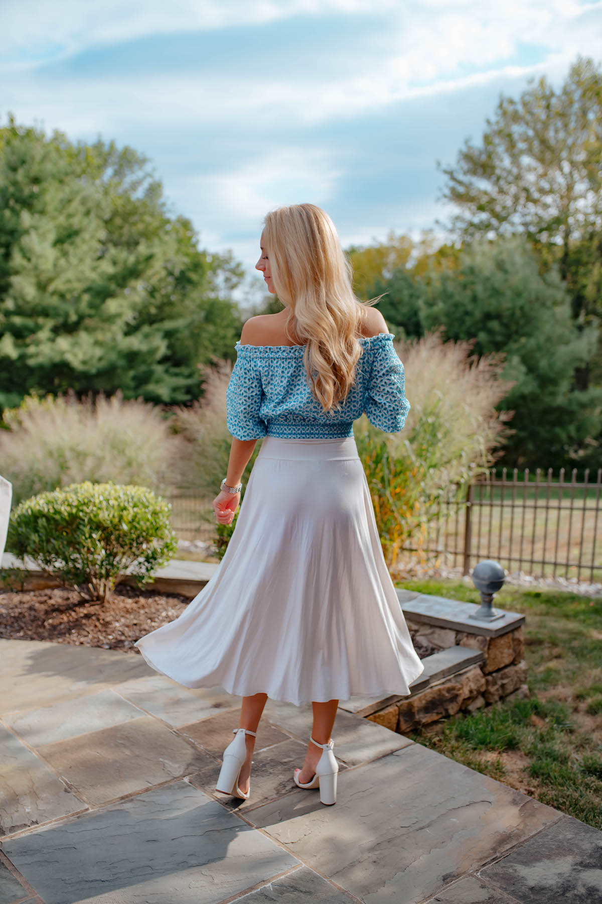 Lilly Pulitzer Off Shoulder Top
